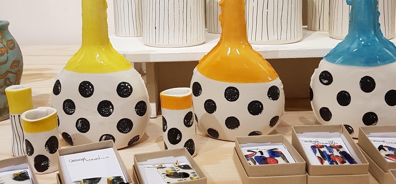 Homepage Banner vases